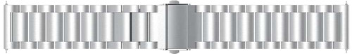 Just in Case Samsung Galaxy Watch3 45mm Metalen Bandje Grijs Main Image