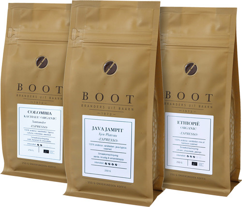 Trial Package Boat Coffee Beans 0.75kg Main Image