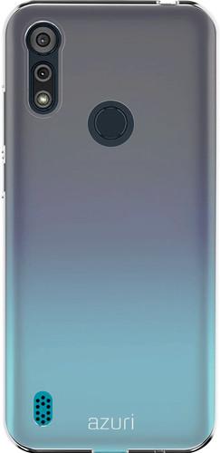 Azuri TPU Motorola Moto E6s Back Cover Transparant Main Image