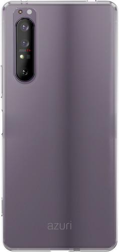 Azuri TPU Sony Xperia 1 II Back Cover Transparant Main Image