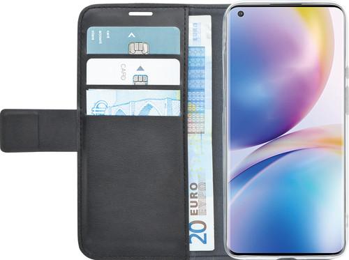 Azuri Wallet OnePlus 8 Pro Book Case Zwart Main Image