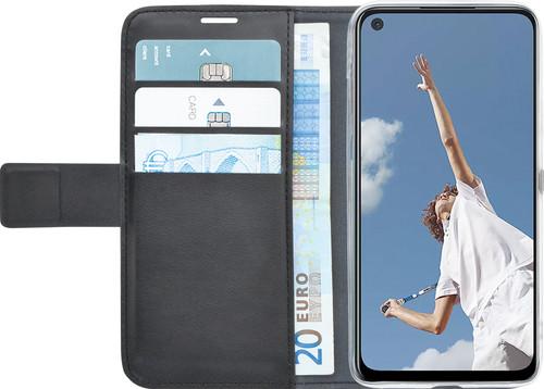 Azuri Wallet OPPO A52 / A72 Book Case Zwart Main Image
