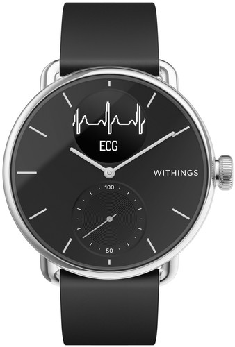 Withings Scanwatch Zwart 42 mm Main Image