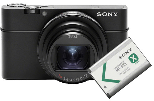 Sony CyberShot DSC-RX100VI + Sony NP-BX1 Battery Main Image