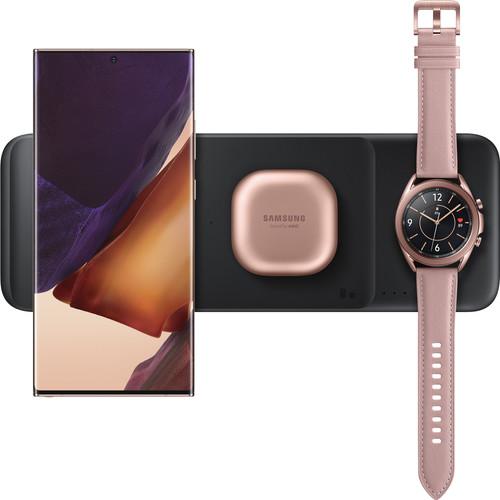 Samsung Trio Wireless Charger 9W Black Main Image