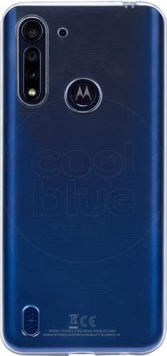 Just in Case Soft Design Motorola Moto G8 Power Lite Back Cover Transparant Main Image