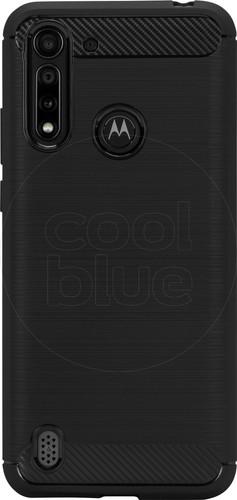 Just in Case Rugged Motorola Moto G8 Power Lite Back Cover Zwart Main Image