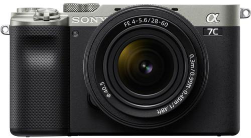 Sony A7C Zilver + 28-60mm f/4-5.6 Zwart Main Image