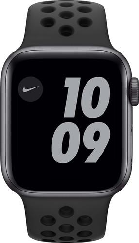 Apple Watch Nike Series 6 40mm Space Gray Aluminium Zwarte Sportband Main Image