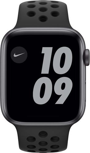 Apple Watch Nike Series 6 44mm Space Gray Aluminum Black Sport Band Main Image