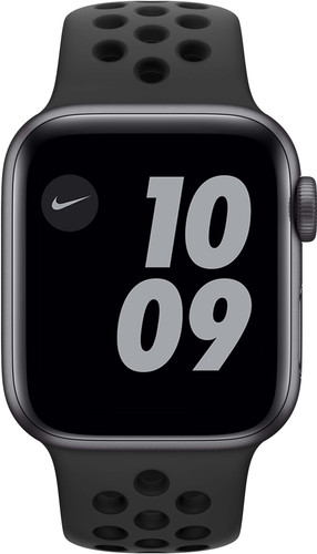 Apple Watch Nike SE 40mm Space Gray Aluminium Zwarte Sportband Main Image