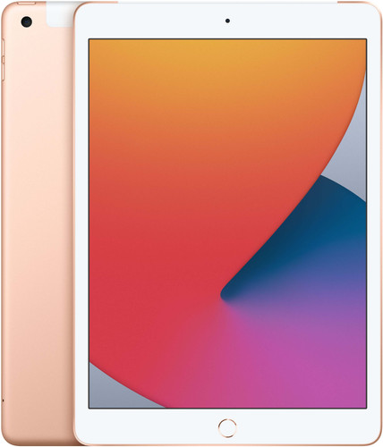 Apple iPad (2020) 10.2 inch 128 GB Wifi + 4G Goud Main Image