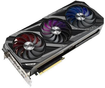 Asus GeForce RTX 3080 ROG Strix Gaming OC 10G Main Image