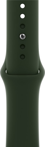 Apple Watch 42/44mm Silicone Watch Strap Sport Cyprus Green Main Image