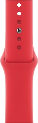 Apple Watch 42/44mm Silicone Watch Strap Sport RED Main Image