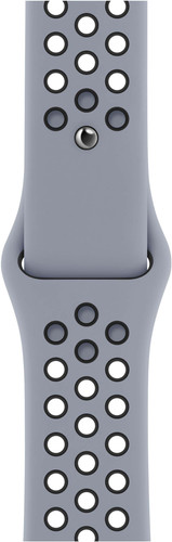 Apple Watch 38/40 mm Siliconen Horlogeband Nike Sport Obsidian Mist/zwart Main Image