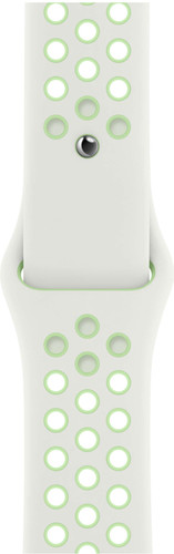 Apple Watch 42/44mm Silicone Watch Strap Nike Sport Spruce Aura/Vapor Green Main Image