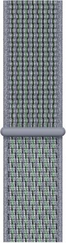 Apple Watch 42/44mm Nylon Sport Loop Nike Watch Strap Obsidian Mist Main Image