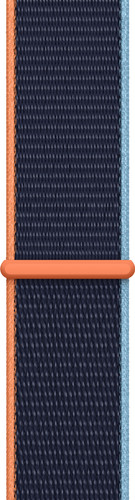 Apple Watch 38/40mm Nylon Sport Loop Watch Strap Deep Navy Main Image