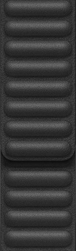 Apple Watch 42/44mm Leather Link Watch Strap Black - Small/Medium Main Image