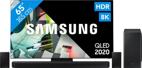 Samsung QLED 8K 65Q900T + soundbar Main Image