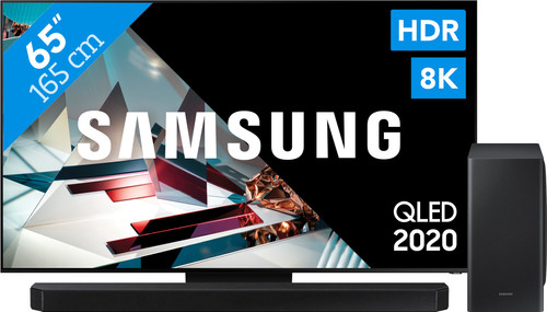 Samsung QLED 8K 65Q800T + soundbar Main Image