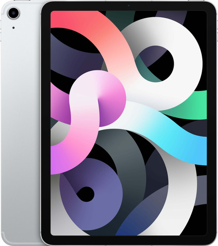 Apple iPad Air (2020) 10.9 inches 256GB WiFi + 4G Silver Main Image