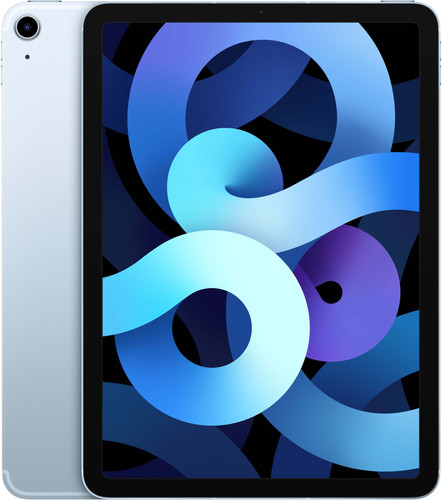 Apple iPad Air (2020) 10.9 inch 256 GB Wifi + 4G Hemelsblauw Main Image
