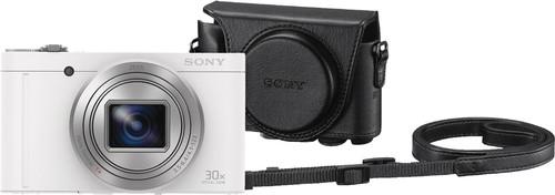 Sony CyberShot DSC-WX500 White + LCJ-HWA Camera Bag Main Image