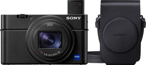 Sony CyberShot DSC-RX100 VII + LCSRXGB.SYH Camera bag Main Image