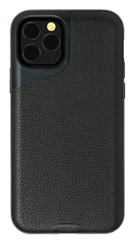 Mous Contour Apple iPhone 11 Pro Max Back Cover Leer Zwart Main Image