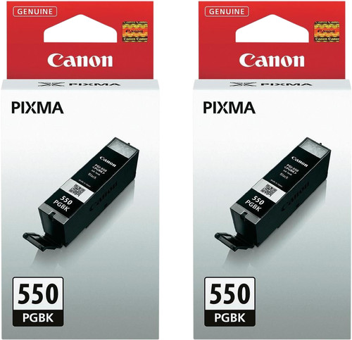 Canon PGI-550 Cartridges Pigmentzwart Duo Pack Main Image