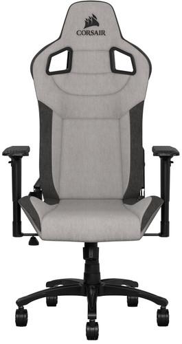 Corsair T3 RUSH Gaming Chair Gray Main Image