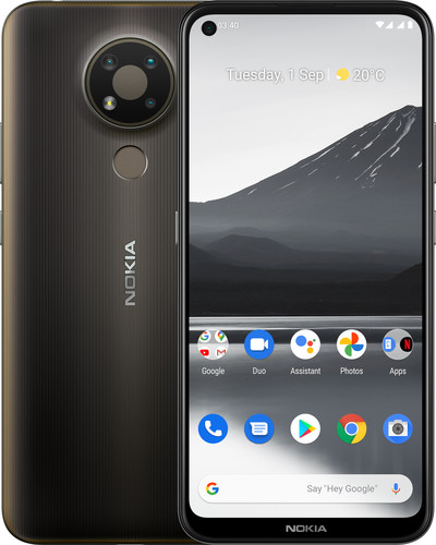 Nokia 3.4 32GB Grijs + Lycamobile databundel Main Image