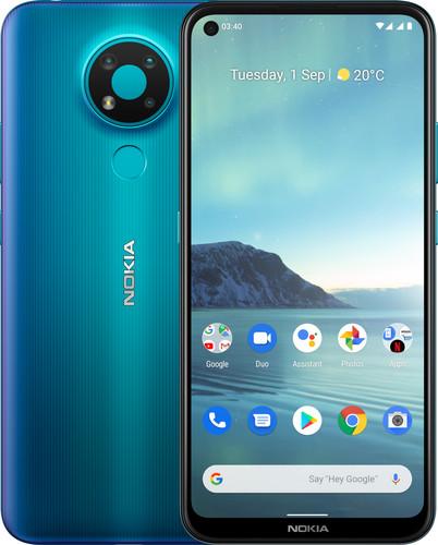 Nokia 3.4 32GB Blue Main Image