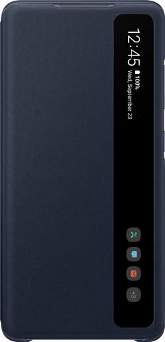 Samsung Galaxy S20 FE Clear View Book Case Blue Main Image