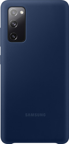 Samsung Galaxy S20 FE Siliconen Back Cover Blauw Main Image