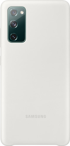 Samsung Galaxy S20 FE Siliconen Back Cover Wit Main Image