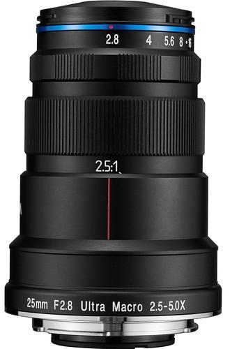 Venus LAOWA 25mm f/2.8 2.5-5x Ultra-Macro Lens Sony FE Main Image