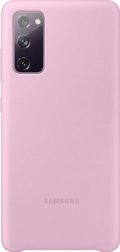 Samsung Galaxy S20 FE Silicone Back Cover Purple Main Image