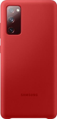 Samsung Galaxy S20 FE Silicone Back Cover Red Main Image