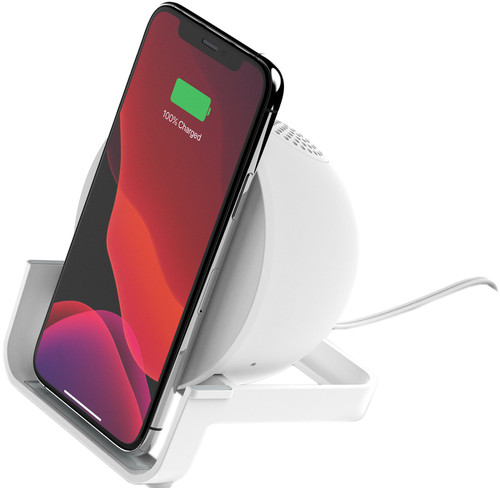 Belkin BoostCharge Wireless Charger 10W with Stand and Speaker White Main Image