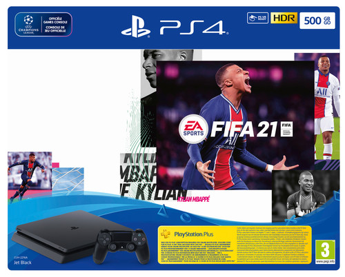 Sony PlayStation 4 Slim 500GB  + FIFA 21 Main Image