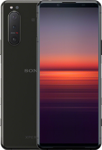 Sony Xperia 5 II 128GB Zwart 5G Main Image