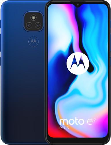 Motorola Moto E7 Plus 64GB Blue Main Image