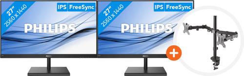 2x Philips 275E1S/00 + NewStar FPMA-D550DBLACK Main Image