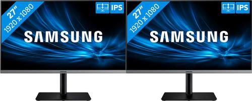 2x Samsung LS27R650FDUXEN Main Image