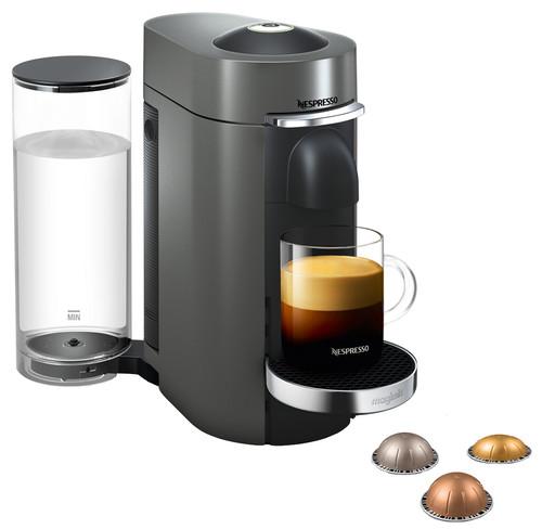 Magimix Nespresso Vertuo Plus Deluxe Titan Main Image