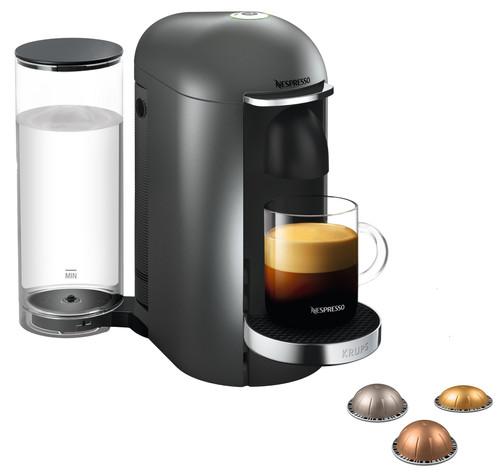 Krups Nespresso Vertuo Plus Deluxe XN900T Titan Main Image