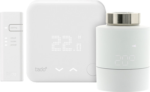 Tado Slimme Thermostaat V3+ + thermostaatknop Main Image